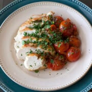 Chicken with Herb Roasted Tomatoes