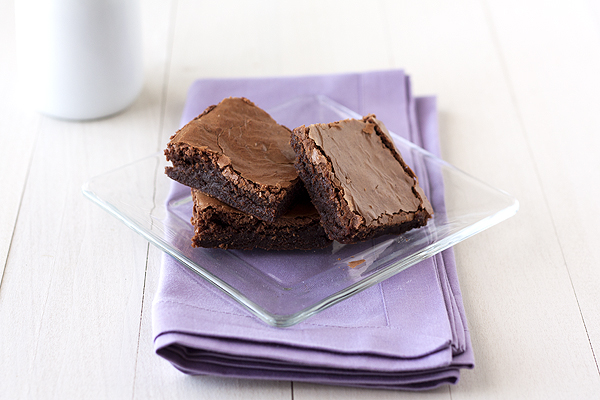Crinkly Brownies