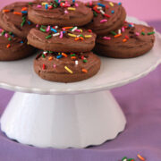 Chocolate Lofthouse Cookies