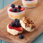Breakfast Cheesecake Cupcakes from Handle the Heat