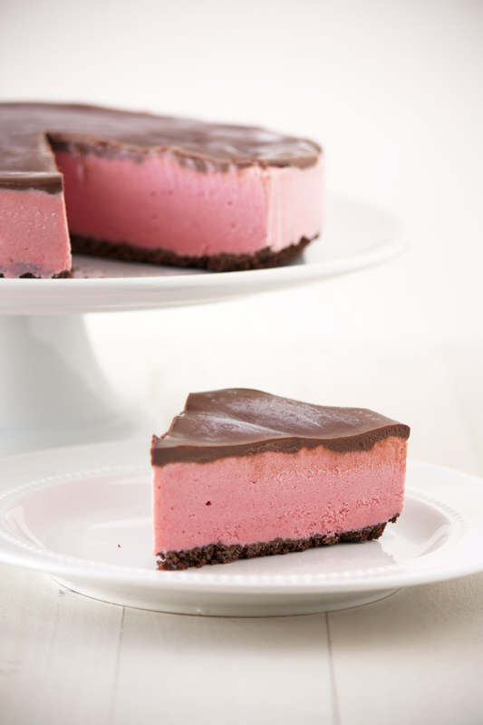 , indulgent, and fresh Chocolate Covered Strawberry Ice Cream Pie ...