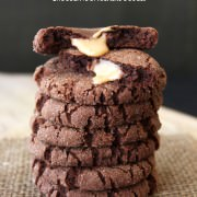 Caramel Stuffed Chocolate Snickerdoodles - ultimate cookie decadence! From handletheheat.com