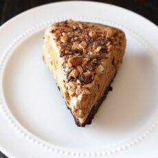 Mocha Brownie Ice Cream Pie