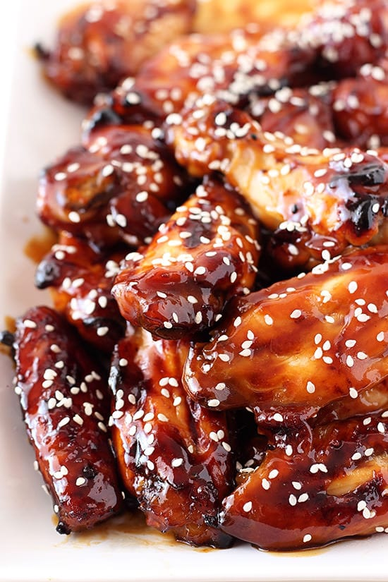 Honey Baked Teriyaki Chicken Wings take 5 minutes to prep with no deep ...