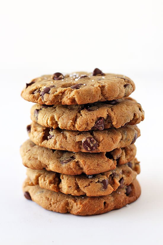 Peanut Butter Chocolate Chip Cookies are big, thick, chewy, and soft ...